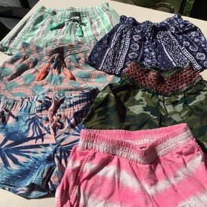 Justice Shorts (6) Pair